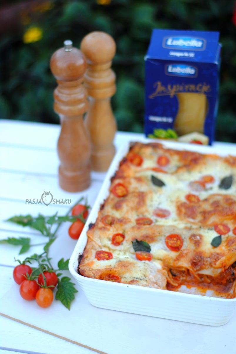 Lasagne Z Cukinia I Pomidorami Pasja Smaku