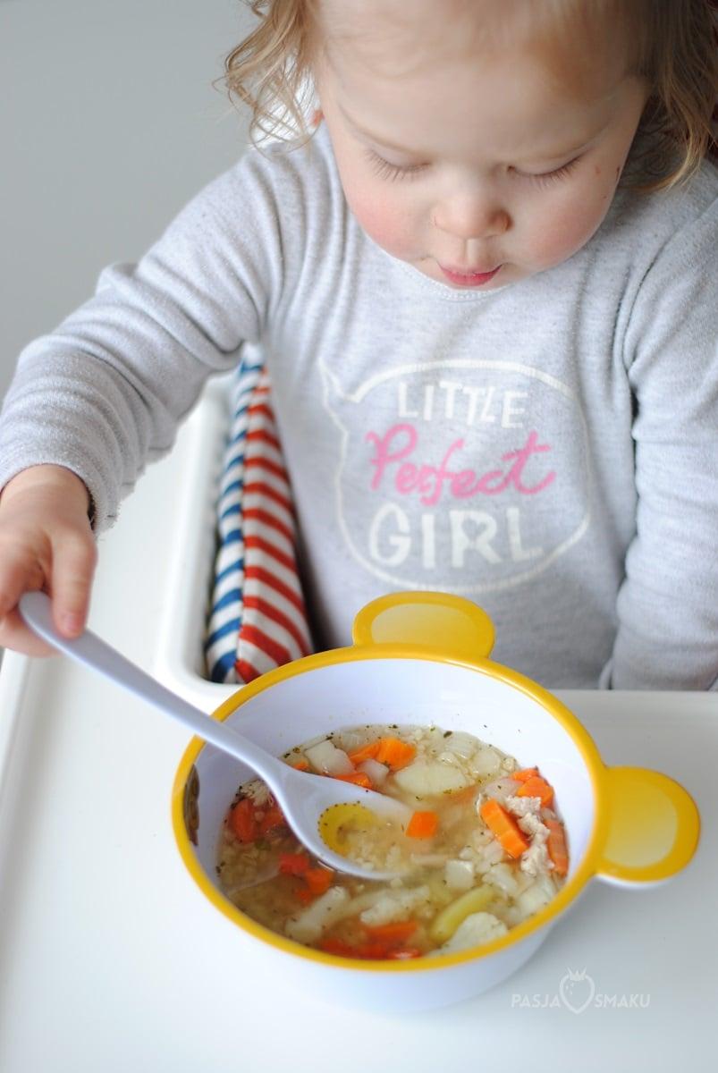 Zupa jarzynowa z kaszą bulgur