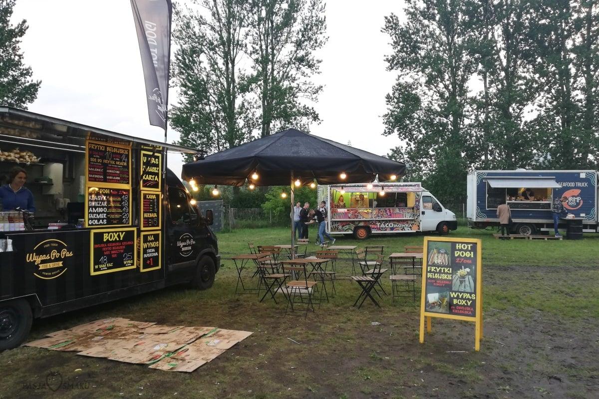 Zlot food trucków na Kozienaliach 2018