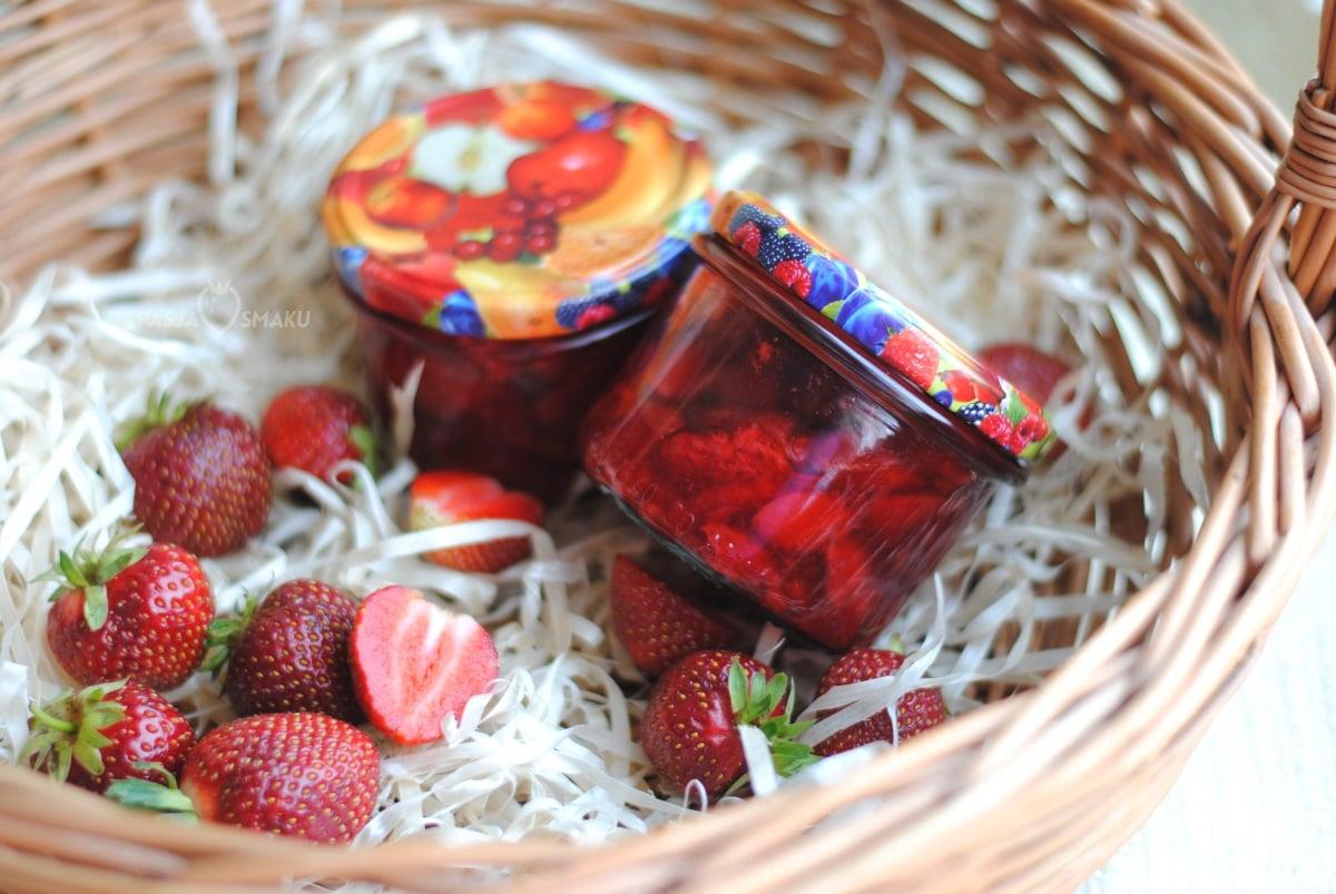 Frużelina truskawkowa