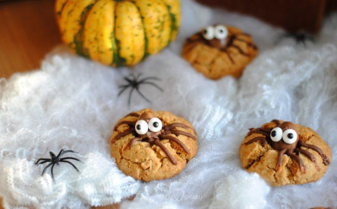 Ciasteczka - pajączki