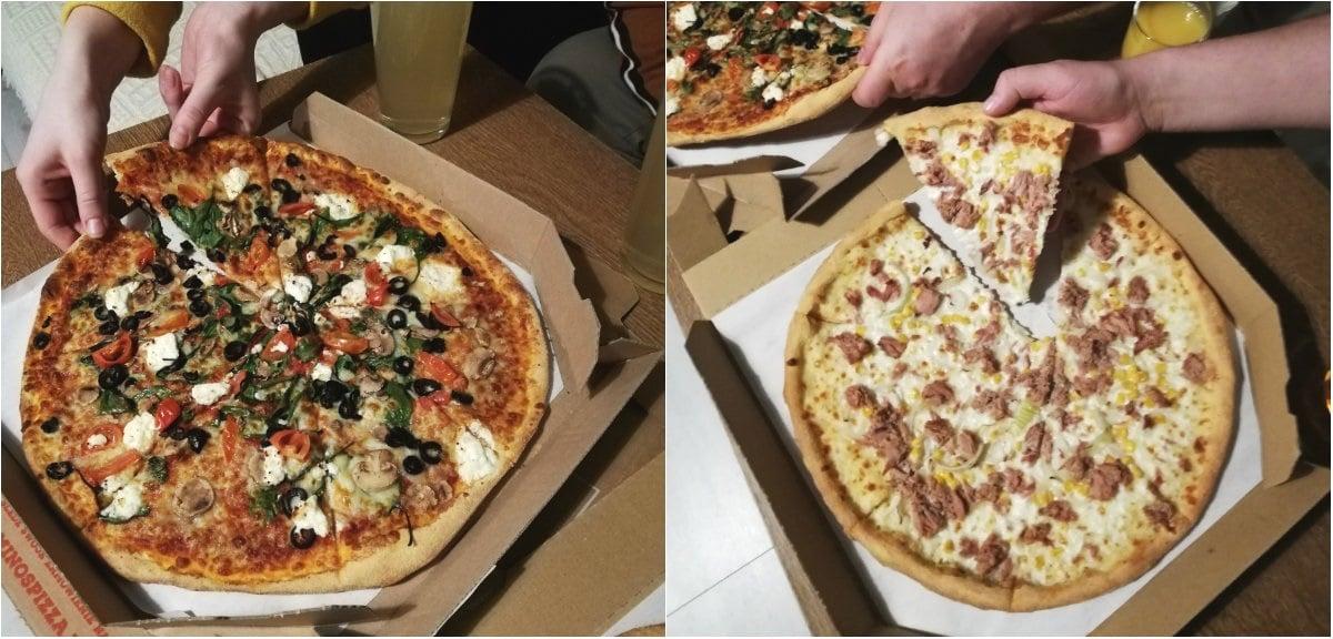 Domino's Pizza pizza na telefon