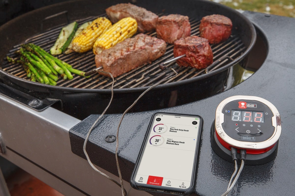 Idealne grillowanie z termometrem iGrill