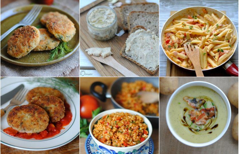 6 prostych przepisów na dania z zapasów