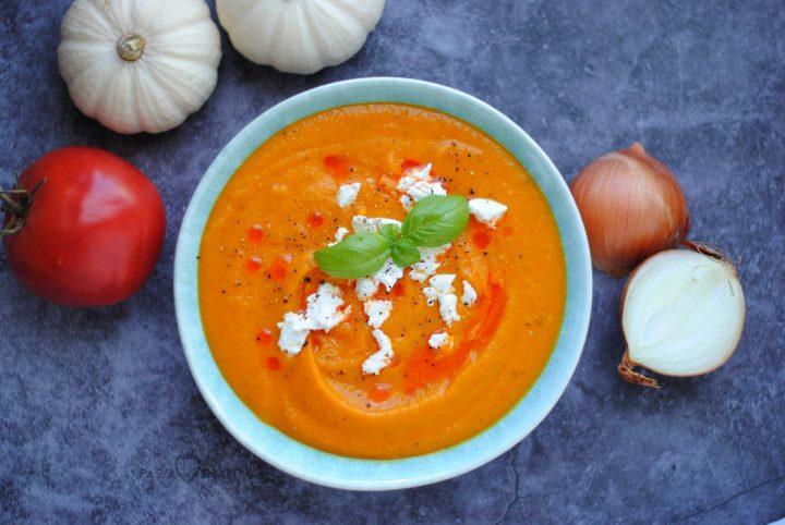 Zupa dyniowo-pomidorowa